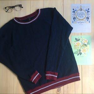 J. Crew Navy Sweatshirt